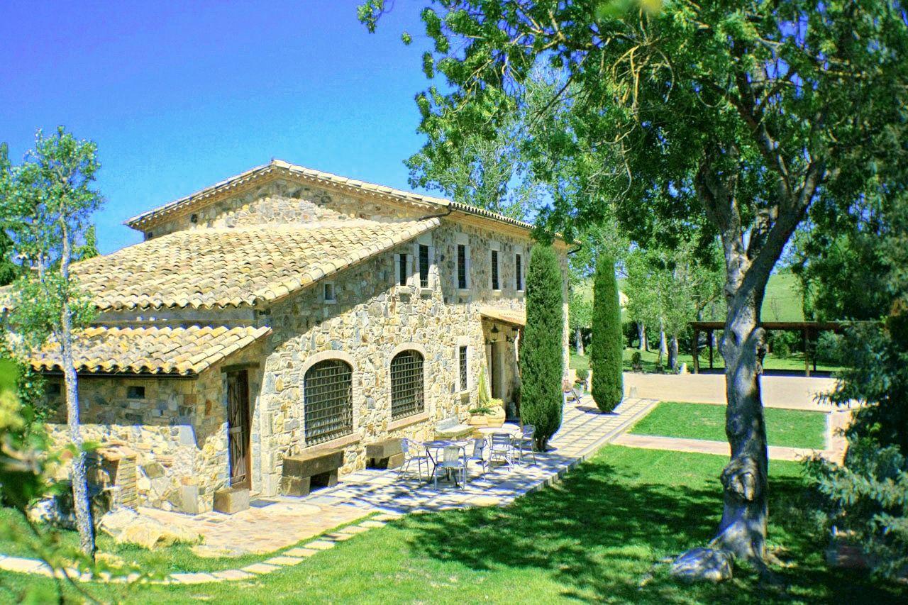 Casa rural Costa Brava cerca de Barcelona 10 habitaciones Villa Mas Figueres