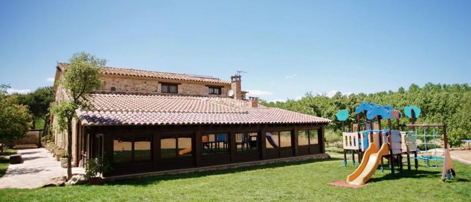 Fotos Villa La Belladona porche acristalado