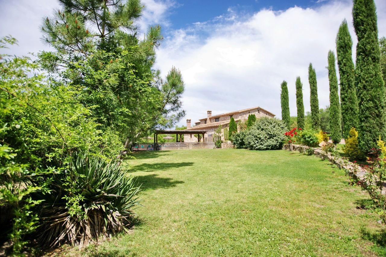 Casa rural costa brava villa la belladona sils 32 personas - Casa rural 11 personas ...